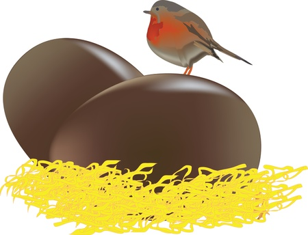oeufs en chocolat: oeufs en chocolat