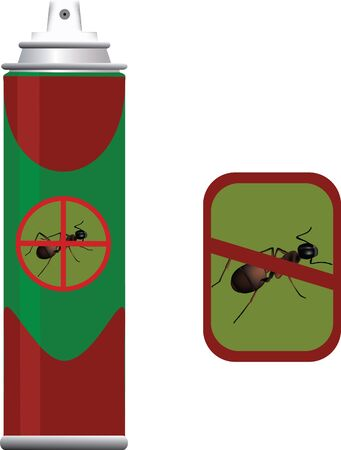 insecticide for insect Stock Vector - 21041103