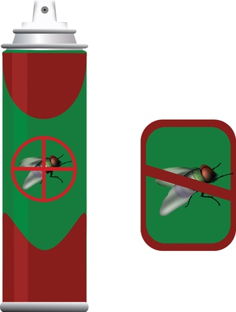 insecticide for insect Stock Vector - 21041102