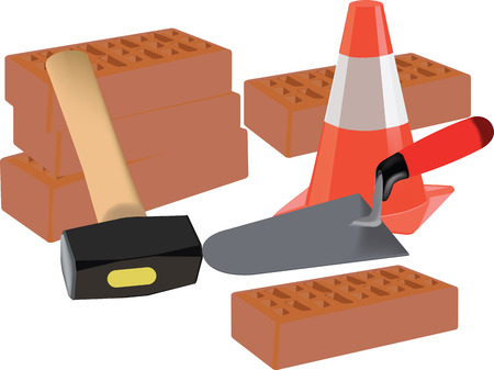 bribe: brick, cone chisel median bribe