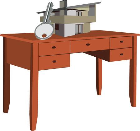 wooden desk: wooden desk home