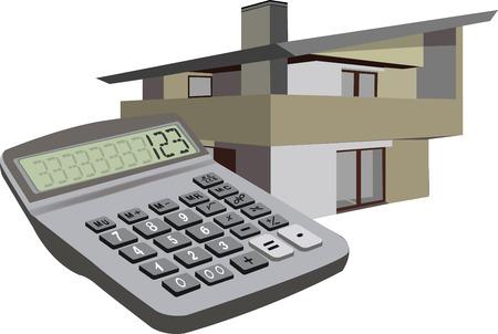 Calcolatore simbolo home home Vettoriali