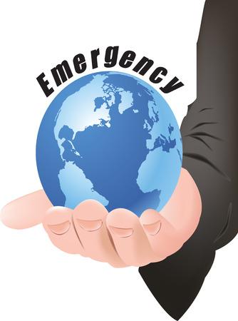 show off: Emergency service logo