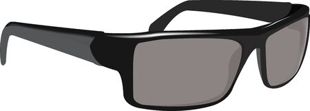 Accessories for the Protection of view polarized glasses dark antiglare Illustration