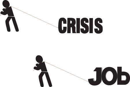 blacks: men blacks bring crisis and work