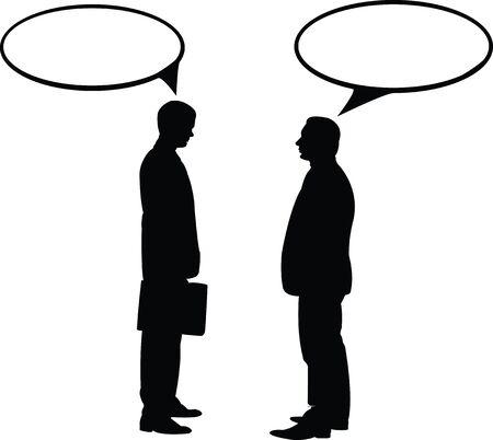 blacks: Figures of men blacks in front of one another