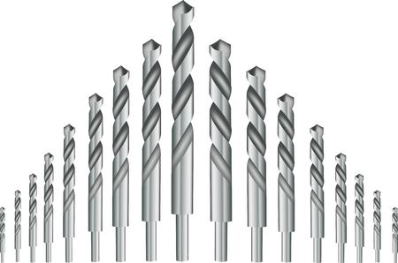 brocas de hardware teel de hierro de perforación