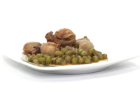 molluscs stewed cuttlefish