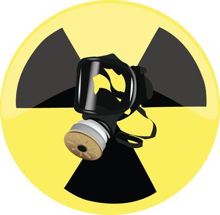 respiratory protection: gas mask