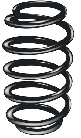 springy: steel spring