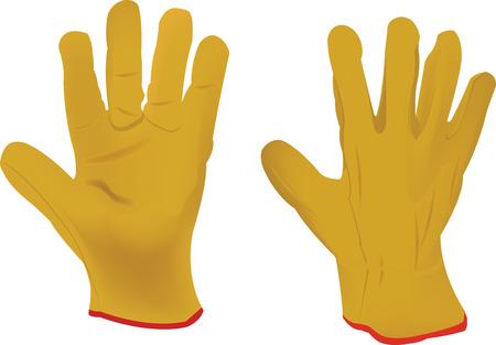 guantes: guantes de trabajo man�a de jardiner�a