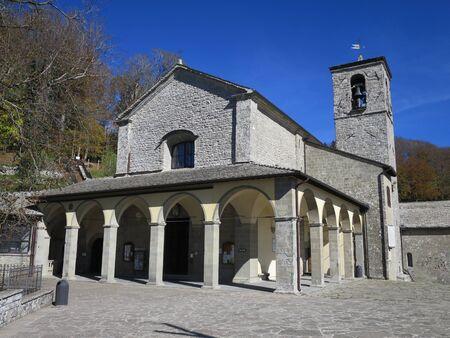 st  francis: St. Francis sanctuary La Verna