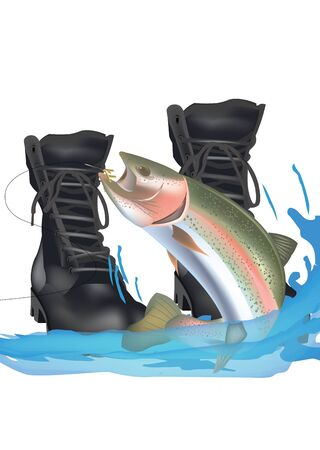 truchas: pesca de la trucha