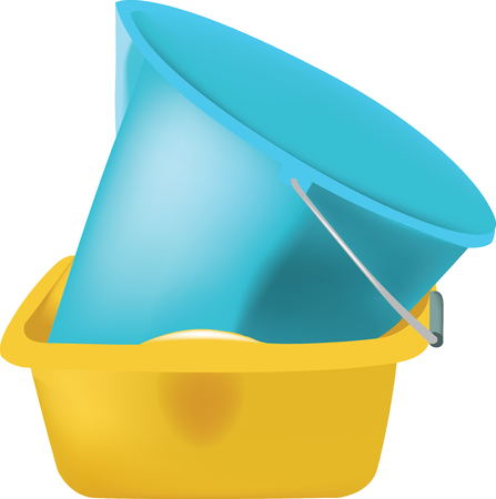 plastic to containers: plastic containers for the cleaning