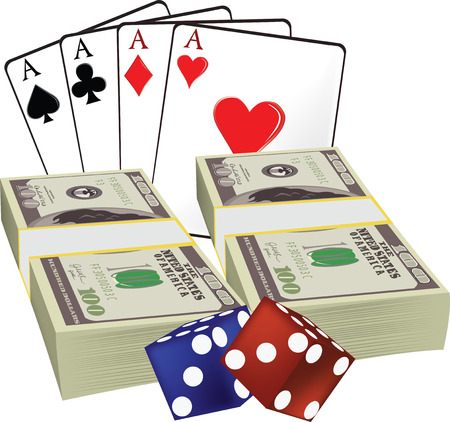 bad luck: Money card rummy and gambling says