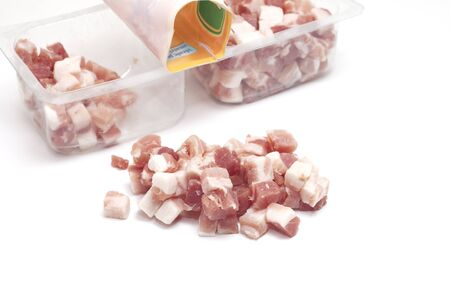 grocer: diced bacon