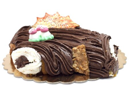 cioccolato natale: sweet chocolate Christmas Archivio Fotografico