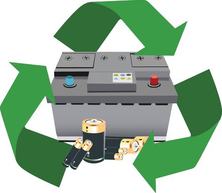 alkaline: symbol recycle alkaline batteries