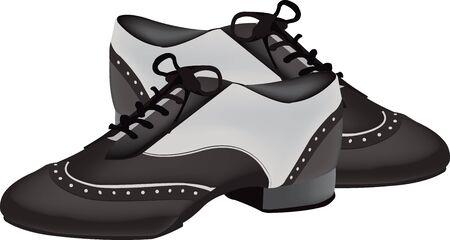 zapatos de dos colores para el baile