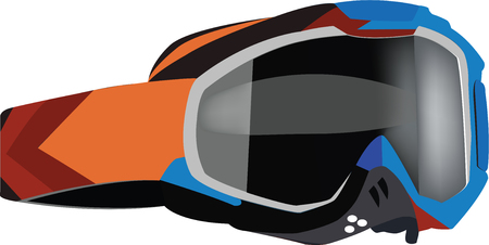 rubber band: ski sport sunglasses