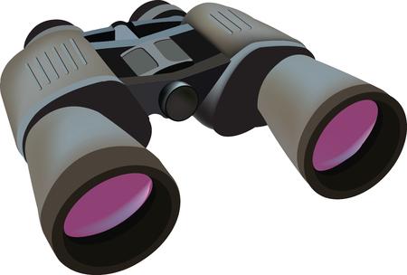 adjustable binocular telescope