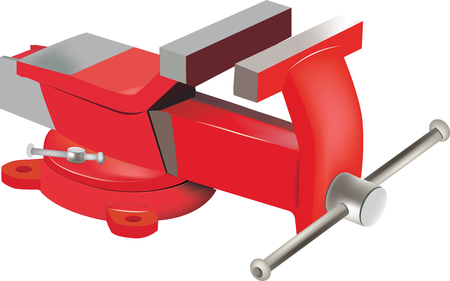 clamp: Tabletop swivel clamp Illustration