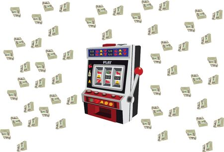 slot machine game   with currency heap payout