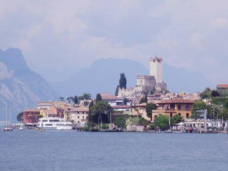 Malcesine Lake Garda Verona Imagens