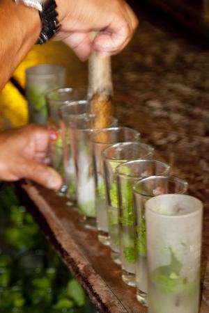 hemingway: Mojito Hemingway bar in Cuba