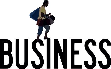 clandestine black boxers selling handbags