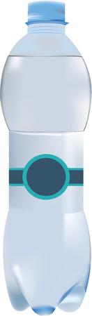 Half liter water bottle.