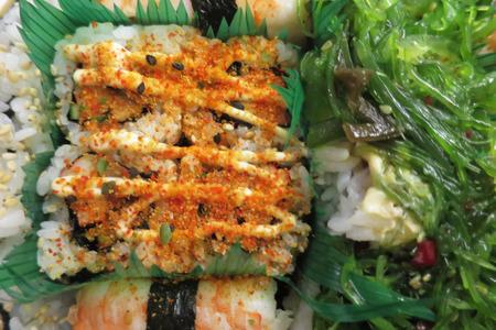 sushi cold fish worked Japanese method