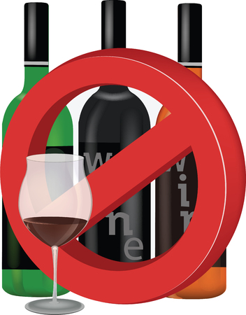 stop to alcohol and wine