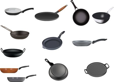 series of non-stick pans for catering