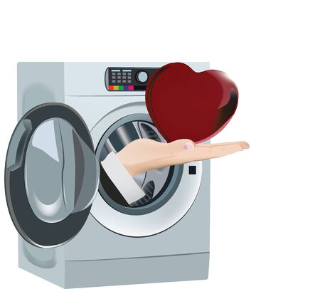 washing machine cleaning cleans the heart