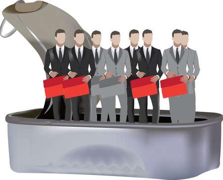 sardine box with manager sardine box with manager