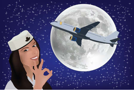 hostes moon plane hostes moon plane