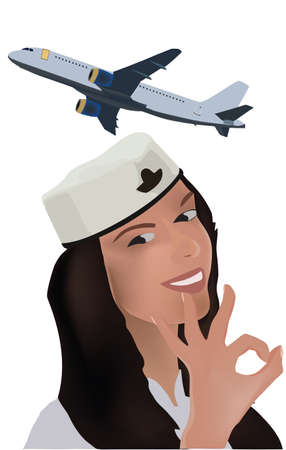 woman in uniform hostes plane woman in uniform hostes plane