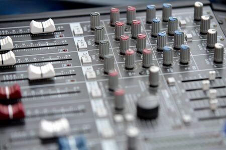 remix: Audio mixage table