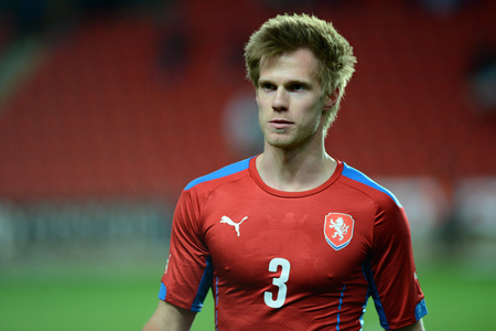 03312015 PRAGUE _ Tomas Kalas. Friendly match Czech Reublic U21 - Portugal U21