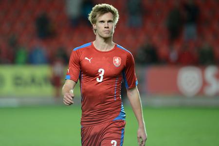 03312015 PRAHA _ Tomáš Kalas. Přátelský zápas české Reublic U21 - U21 Portugalsko