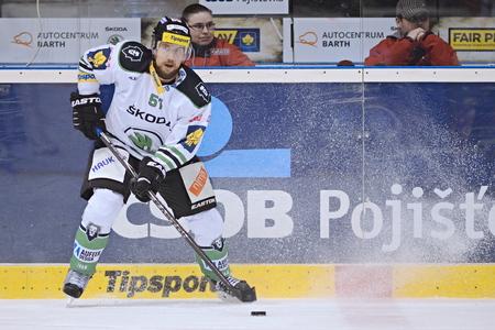 icehockey: 25032015 PARDUBICE _ Mitja Robar and match HC Pardubice and BK Mlada Boleslav.