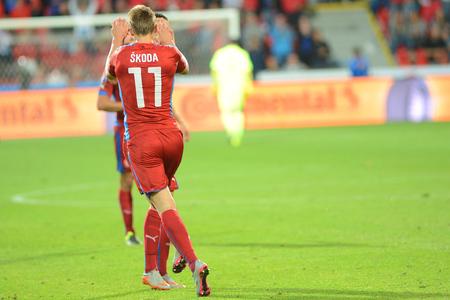 Plzeň 03.9.2015 _ Milan Škoda. Utkání EURO 2016 kvalifikační skupině A Česká republika - Kazachstán.