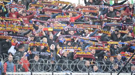 Hradec Králové 04.04.2015 _ shoda mezi FC Hradec Králové a AC Sparta Praha