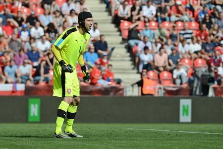 05.06.2015 PRAHA _ Petr Cech. Přátelský zápas české Reublic - Jižní Korea