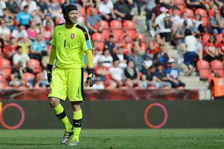 05062015 PRAGUE _ Petr Cech. Friendly match Czech Reublic - South Korea