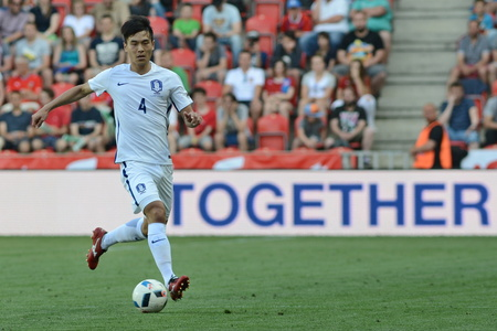 05062015 PRAGUE _ Keehee Kim. Friendly match Czech Reublic - South Korea