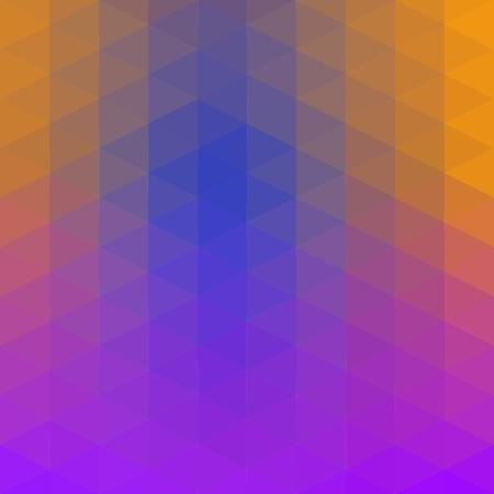 Fialovo-modro-zelená low poly trojúhelník polygon