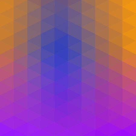 Purple-Blue-Green low poly triangle polygon