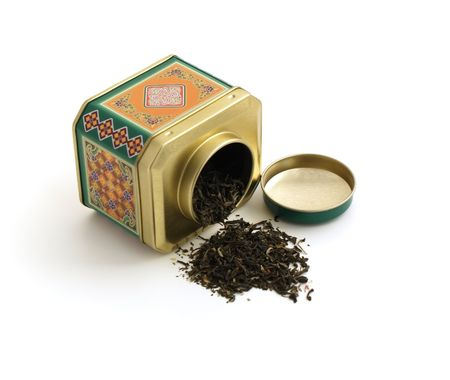 ornamental tin can with tee isolation